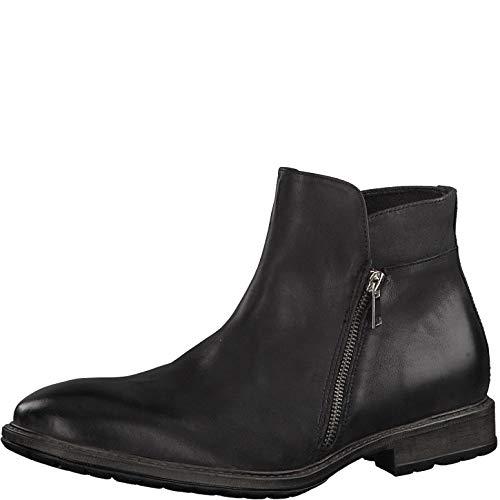 s.Oliver Herren Stiefel 15400-23, Männer KlassischeStiefel, maskulin rustikal Men's Men Man Freizeit leger Boots lederstiefel,Black,42 EU / 8 UK