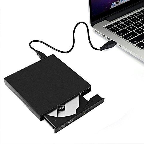 Lector DVD/CD Portátil - Grabador CD-R/CD-RW Reproductor