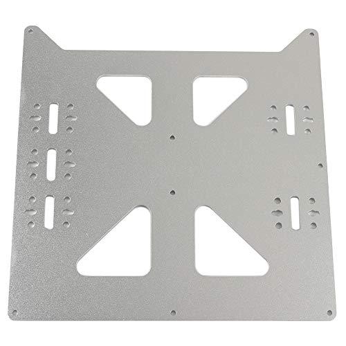 FYSETC Prusa i3 DIY Zubehör V2 Aluminium Platte, Y Wagen Upgrade Teile für 3D-Drucker Prusa i3 Style Heizbett