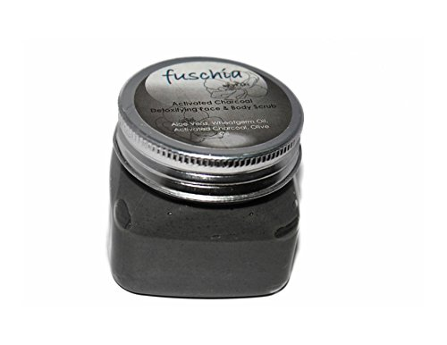 Vkare Fuschia Activated Charcoal Face & Body Detoxifying Scrub