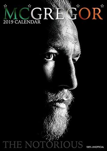 Conor MCGREGOR Kalendar 2019 Wandposter/Wandkalender, groß, A3, ab 365