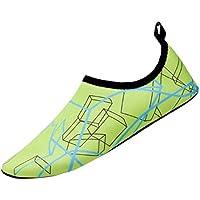 QinMM Zapatos de Agua para Buceo Snorkel Surf Piscina Playa Yoga Deportes Acuáticos Calcetines para Mujer y Hombre