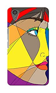CimaCase Woman Face Designer 3D Printed Case Cover For OnePlus X