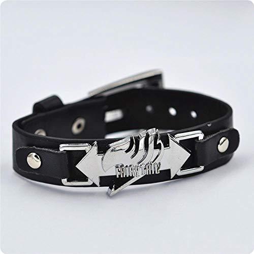 LHHJ Damen Herren Armband Armbänder Anime Armband Kobold Schwanz Logo Armband Punk Hand Band Armband
