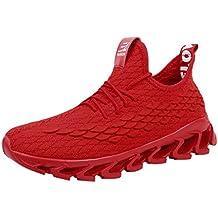 210efbbd9 Darringls Zapatillas Running para Hombre Aire Libre y Deporte Transpirables  Casual Zapatos Gimnasio Correr Sneakers Zapatos