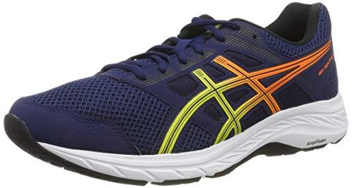 Asics Gel-Contend 5, Zapatillas de Running para Hombre, Azul (Blue Expanse/Sour Yuzu 405), 44.5 EU