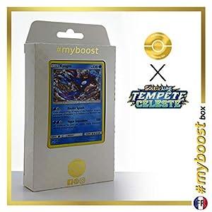 Kyogre 46/168 Holo - #myboost X Soleil & Lune 7 Tempête Céleste - Box de 10 Cartas Pokémon Francés