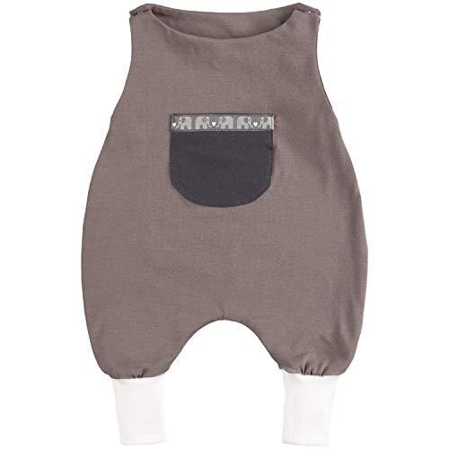 Lilakind - Pijama de una Pieza para bebé, de algodón, Color Pardo,...