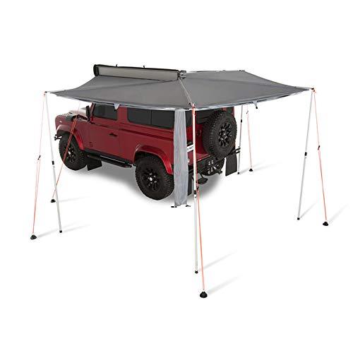 TFGY Auto-Markise, Außen-Campingzelt-Seitenmarkise, Fächerförmiges Auto-Seitenzelt - Autoausrüstung