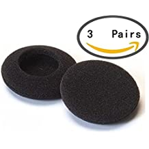 Hosaire 3Pairs 50mm Pads de Cojín Oído para AKG K412P K416P K26P K24P K271P auriculares