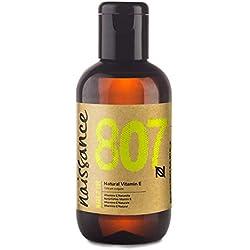 Naissance Natürliches Vitamin E Öl (Nr. 807) 100ml 100% natürlich