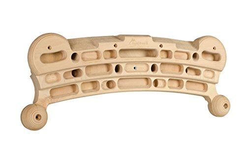 Kraxlboard Rock, Hangboard, Klettertrainingsboard aus Holz in top Qualität