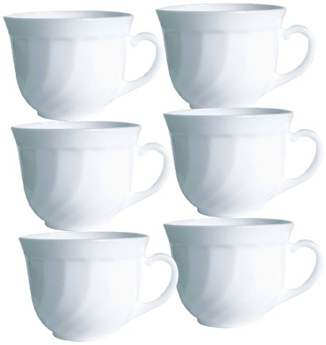 Arc International Esmeyer 441-030 6er Pack Kaffeetasse obere TRIANON Kaffeetasse mit einem...