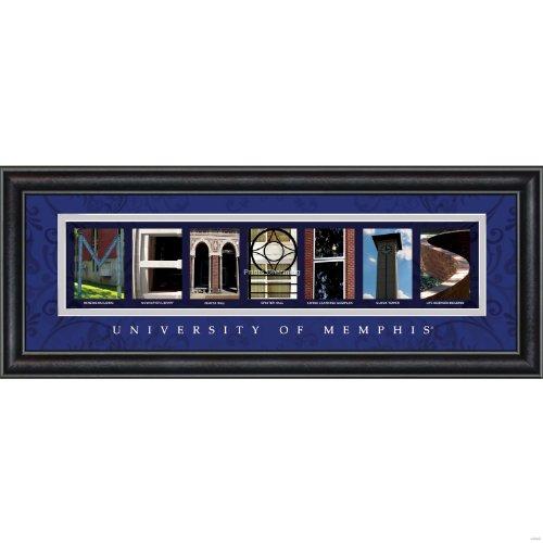 Prints Charming Buchstabe Art Gerahmter Druck, U von Memphis-Memphis, Bold Farbe Grenze