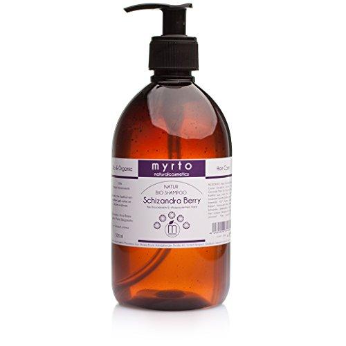 myrto-naturalcosmetics - Bio Repair Shampoo mild | gegen juckende & gereizte Kopfhaut ✔ gegen Spliss ✔ ohne Sulfate ✔ ohne Silikone ✔ ohne Alkohol ✔ vegan ✔ handgefertigt ✔ - 500 ml