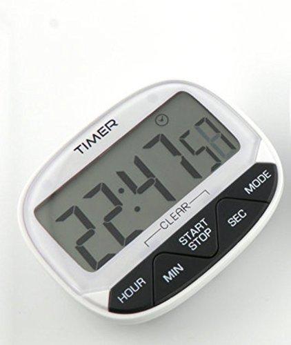 tfxwerws Küche Kochen 24Stunde Elektronischer Timer (weiß) -