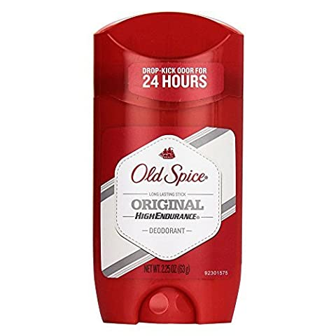 Old Spice Hohe Endurance Deodorant Long Lasting Stick-Original-Duft - 65 ml (Pack of 6)