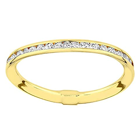 Citerna 9 ct Yellow Gold Eternity Ring in a Channel Setting