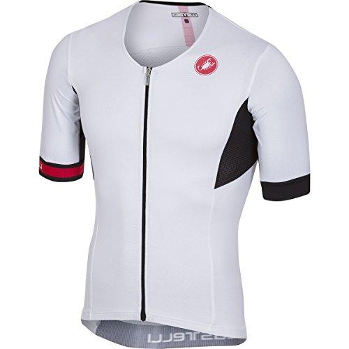 Castelli Free Speed Race Tri Jersey - Men's White, XL