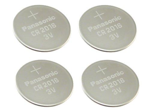 Panasonic CR20163V Lithium Batterie (4Stück) (3 Volt Lithium Batterie Cr2016)