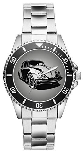 Geschenk für VW Käfer Beetle Oldtimer Fans Fahrer Kiesenberg Uhr 2515