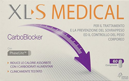 Xl-s medical integratore bruciacalorie carboblocker - 60 compresse