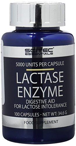 Lactase-enzym 100 Kapseln (Scitec Nutrition Specials Lactase Enzyme, 100 Kapseln, 1er Pack (1 x 35g))