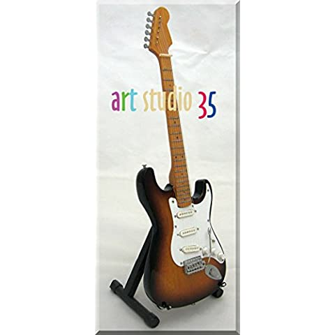 BOB DYLAN Miniatura Guitarra SUNBURST