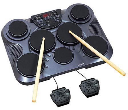 Tribal - Quad pad pro t7 dd305 pad de percusion 7 pads