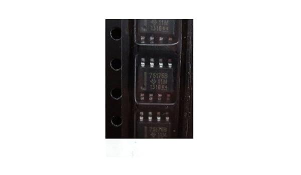 20PCS SN75176 SN75176BDR TI IC DIFF BUS TXCVR 8-SOIC NEW