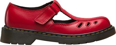 Dr Martens Bambini Core Ashby Cut Out t–Scarpe Rosso T Lamper Red
