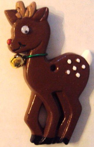 reno-de-navidad-crafts-hecho-a-mano-adorno-de-ceramica