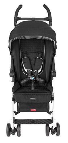MACLAREN BMW BUGGY STROLLER  BLACK BY MACLAREN
