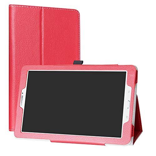 Samsung galaxy tab e 9.6 custodia,mama mouth slim sottile di peso leggero con supporto in piedi caso case per 9.6
