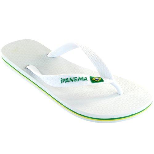 Femmes Ipanema Brésil Tongs Sandales Blanc