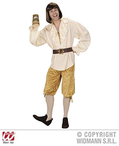 Kinder Kostüm Kellner Für (KNICKERBOCKER GOLDBRAUN Größe 50/52 (M/L))