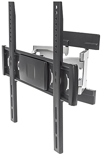 manhattan-461313-aluminium-extra-slim-universal-tv-wall-mount-tilt-swivel-bracket-suitable-for-flat-