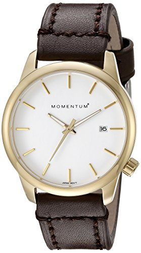 Momentum Women's 1M-SP13W2C LOGIC SS Analog Display Japanese Quartz Brown Watch