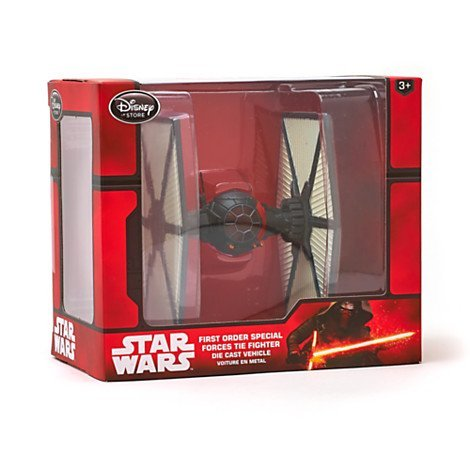 Star Wars The Force Awakens First Order Special Forces Tie Fighter Die Cast Vehicle