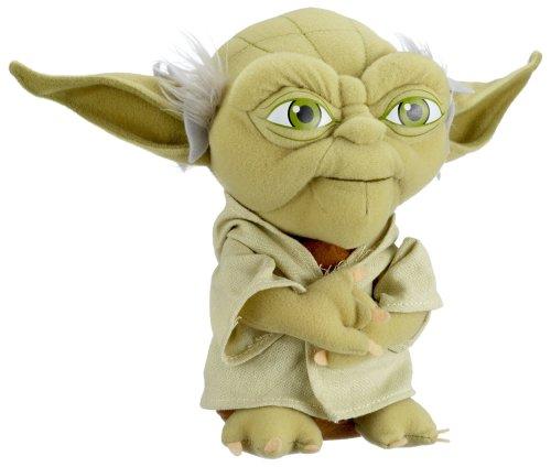 Preisvergleich Produktbild Star Wars Clone Wars 741020 - Yoda Plüsch, 23 cm