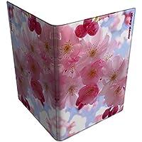 Stray Decor (Cherry Blossom) porta passaporto/ documenti di viaggio/portafoglio