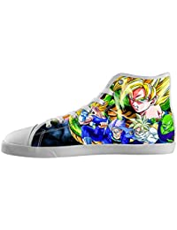 Mens Dragon Ball z High Top Canvas Shoes Dragon Ball z Canvas Shoes for Women