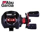 FCGV Mulinello da Pesca Abu Garcia Max3 Max3-L 6.4: 1 Ruota Water Drop Baitcasting - Rosso e Nero