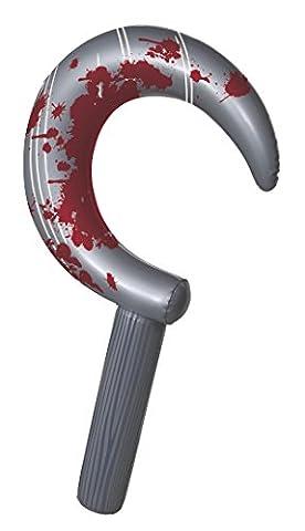 62cm aufblasbar Horror Sichel Halloween Dekoration (Halloween Aufblasbare Kostüme)