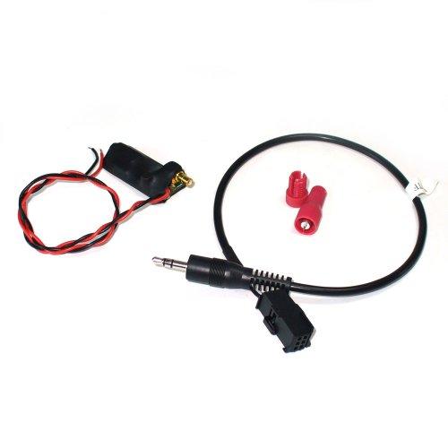GROM DSP Wandler für alle BMW mit DSP-Verstärker und Adapter für Wechslervorbereitung für Dension Gateway, iGateway, Grom, Dice/Audiovox UVM. Audiovox Auto-adapter