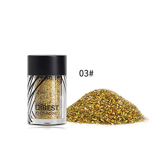 Yazidan Kosmetik Leistung Lidschatten Lippe Makeup Glitter Pulver Perle Metallic Lidschatten Perle Palette Lidschatten Diamant Regenbogen Make up Kosmetik Augenschatten