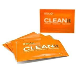 Lingettes nettoyantes CLEANit de SOLIQ
