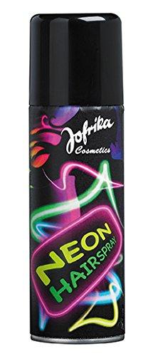 Neon Haarspray pink, Farbtintensives Neon Haarspray. Nicht auf blondes oder chemisch behandeltes Haar anwenden. Leicht auswaschbar. Inhalt: 125ml