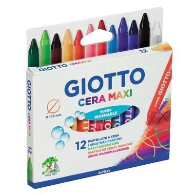 Wachsmalstifte Wachs Giotto Maxi-12 -