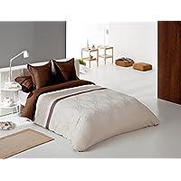 Reig Martí Graco - Juego de funda nórdica jacquard, 4 piezas, para cama de 180 cm, color gris